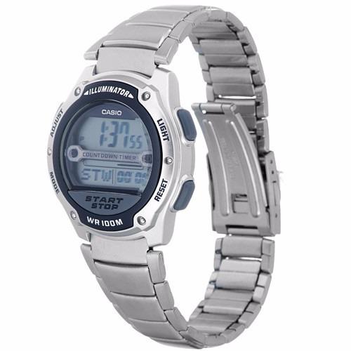 5716b00f761 Relógio Casio Masculino Wr 100m Bateria 10 Anos W-756d-1avdf - R  238