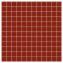 Venecitas De Vidrio Premium - Rojo - Pileta - Malla 30x30