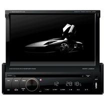 Dvd Retrátil 7 Napoli 7968 Gps Touch Tv Digital Sd Usb Am/fm