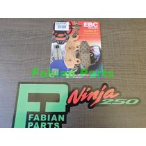 Pastillas Freno Ebc Kawasaki Ninja 250r 300 Kle 650