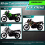 Calcomanias , Kawasaki Klr650,kl650,kawasaki,impresa Extreme