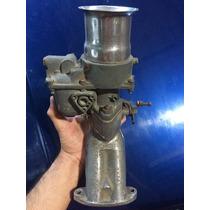 Par Carburador Solex 40 Opala Com Coletor (fusca, Puma...)