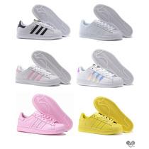 Zapatillas Adidas Superstar Originales Mujer - Envio Gratis