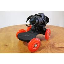 Dolly Traveling Slider Skater Para Dsrl