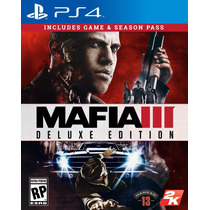 Mafia 3 Tres Playstation 4 Ps4 Deluxe Edition ( Game + Seaso