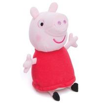 Pelúcia Nova Peppa Pig Porquinha Rosa