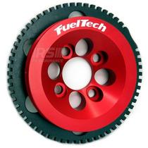 Kit Roda Fônica Fueltech Vw 60-2 Para Ap 8v - Vermelho