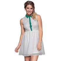 Vestido Renda Chiffon Girlie Estilo Boutique