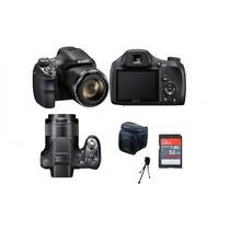 Câmera Sony Dsc-h400 +32gb/cl10+bolsa+tripé.em Estoque!!
