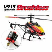 Helicoptero Wltoys V913 Brushless Controle Remoto 2,4ghz
