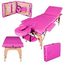 Camilla Para Masajes Massage Imperial De 3 Cuerpos Reiki Spa