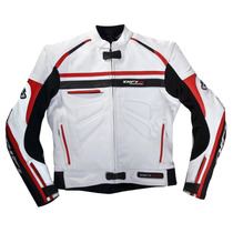 Chamarra Motociclismo De Piel Difi San Carlos Talla M