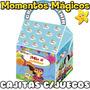 10 Cajitas Feliz Souvenirs Baby Tv Golosinera + 7 Juegos