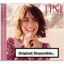 Cd - Tini ( Martina Stoessel )- Version Deluxe 2cds.violetta