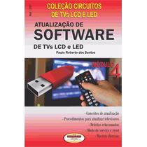 Livro Atualização De Software Para Tvs Lcd E Led