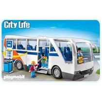 Retromex Playmobil 5106 Camion Escolar Ciudad Escuela Niños