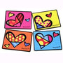 Set 4 Manteles Individuales Romero Britto