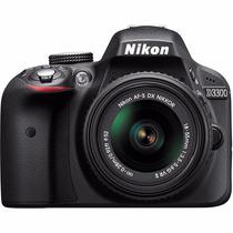 Nikon D3300 Kit 18-55mm 24mp Dx-format Cmos Full Hd Video