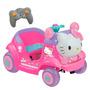 Auto A Batería Infantil Niña Bebesit Hello Kitty Vehículo