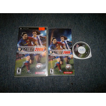 Pro Evolution Soccer 2009 Completo Para Sony Psp, Checalo