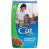 Ração Para Gato Cat Chow Ambientes Internos 10,1kg