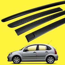 Friso Lateral Do C3 Modelo Original -kit 4 Pçs C3 1º Geração