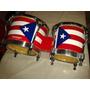 Bongo Color Bandera De Puertorico Marca Rm