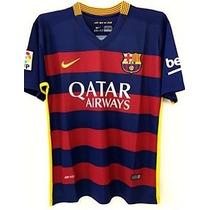Playera Tipo Jersey Barcelona Messi O Neymar Local 2016