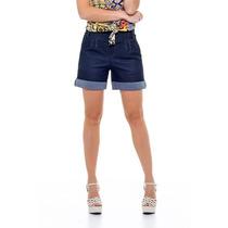Short, Bermuda Jeans Feminina Retrô, Boyfriend, Moda Verão!!