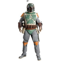 Disfraz Star Wars, Traje De Boba Fett, Collector Edition Su