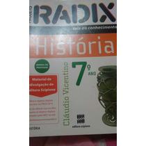Livro Radix História 7º Ano