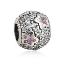 Charm Follow The Stars Pink Cristal Estrellas Pandora Pulser