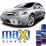 Tinta Spray Automotiva Honda Prata Global + Verniz 300ml