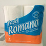Papel Higienico Romano Premium Doble Hoja 30 Mts X 4 Rollos