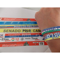 100 Manillas Publicitarias Full Color