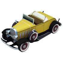 Papel Modelismo 3d - Carros Antigos - Chevrolet Confederat