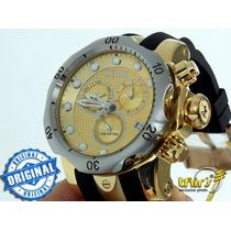Invicta Venom Reserve 16151 Banhado Ouro 18k Original