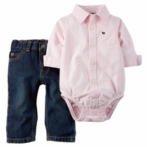 Conjuntos Carters Pantalón Y Camisa
