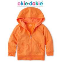 Envio Sudadera 18/24 Meses Okie Dokie Nino(a) Naranja Hoodie