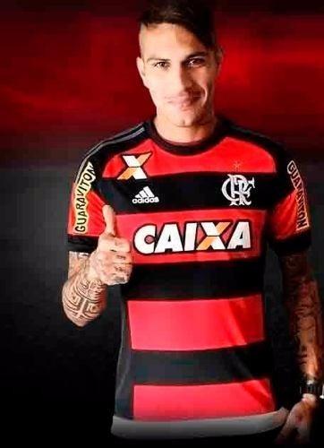 8b55da4a7c Camisa Flamengo Mengão Urubu Branca Modelo Novo 2015 adidas - R  78 ...