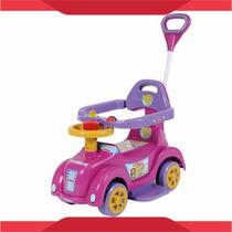 Carrinho Baby Car Com Empurrador Menina Criança Menino Carro