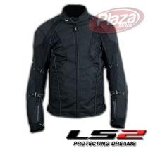Campera Ls2 Four Seasons Men Térmica Impermeable C/ Protecc