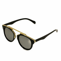 Lentes De Sol Vintage Retro Unisex Gafas Resistentes 5663liq