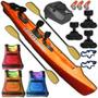 Kayak Rocker Warrior 3 Pers. C9 Local C/ Pileta Envio Gratis