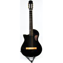 Guitarra Criolla Acustica Corte Zurda 1/2 Caja Funda Gtia