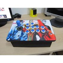 Controle Arcade Fliperama P/ Recalbox Retropie E Computador