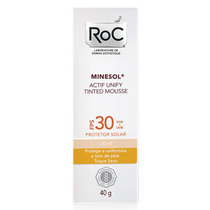 Roc Minesol Actif Unify Tinted Mousse Light Fps 30 40 G