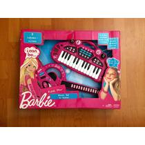 Set Musical Original De Barbie Guitarra Y Teclado.