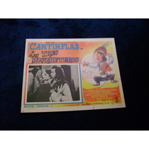Los Tres Mosqueteros Cantinflas Lobby Card Cartel Poster