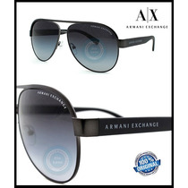 Lentes De Sol Armani Exchange Aviator Ax2013 60688g Original